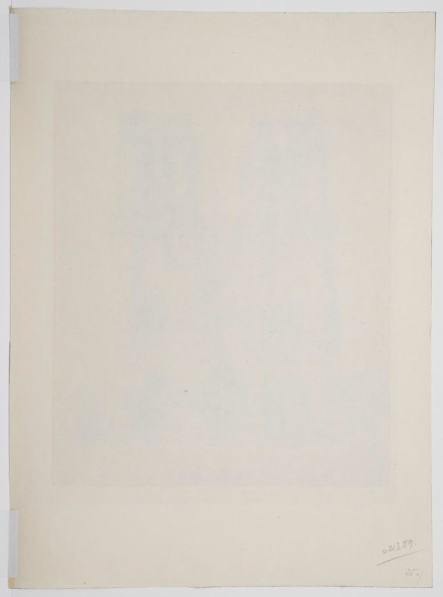 Henry Deville - Notre Dame de Paris - Verso