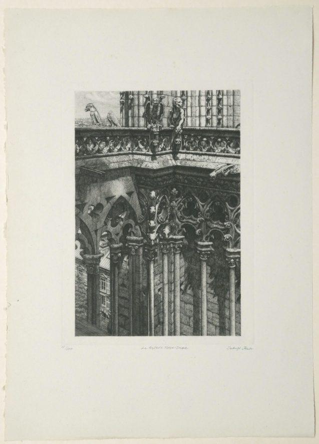 Takuji Kubo - La galerie Notre Dame - Édition de tête - Recto