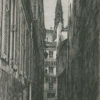 Takuji Kubo - La rue des Chantres - Édition de tête