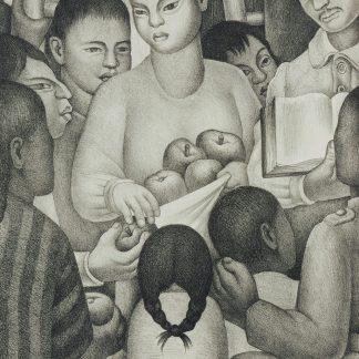 Diego Rivera - Frutos de la escuela