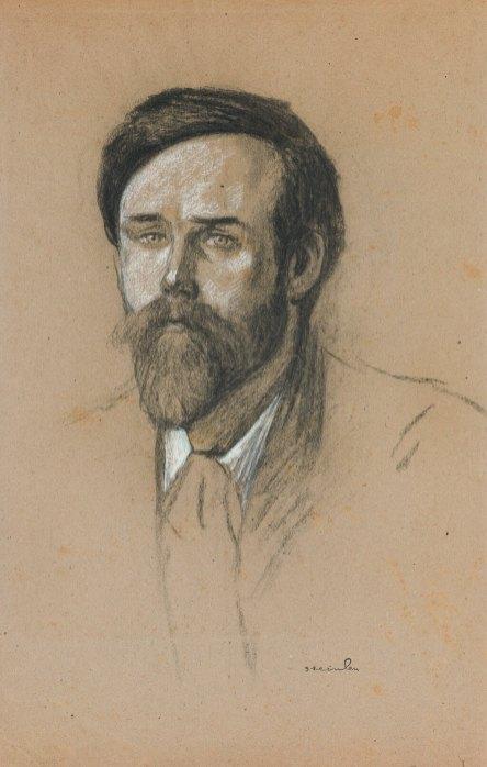 Théophile Alexandre Steinlen - Portrait de Pieter Dupont
