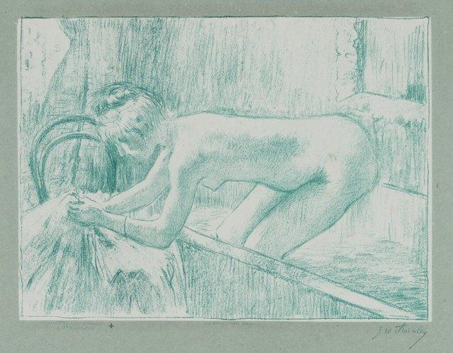 Georges William Thornley - Quinze lithographies d'après Degas - planche 11