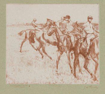 Georges William Thornley - Quinze lithographies d'après Degas - planche 14