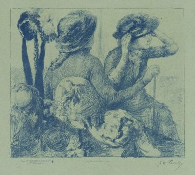 Georges William Thornley - Quinze lithographies d'après Degas - planche 7