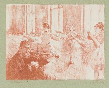 Georges William Thornley - Quinze lithographies d'après Degas - planche 9