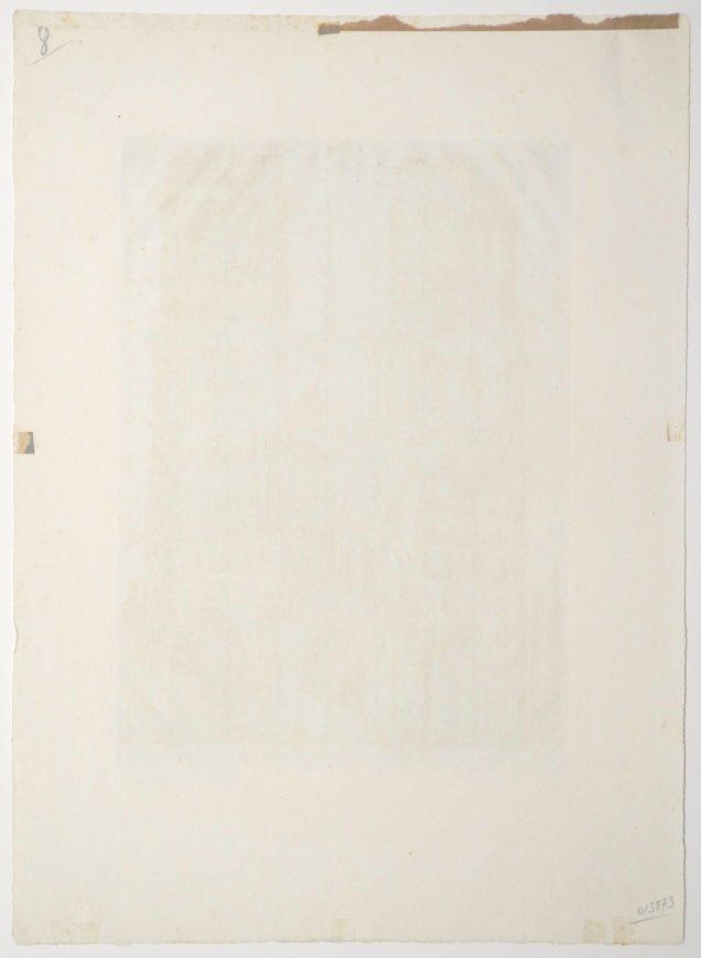 Roger Vieillard - La cathédrale - Verso