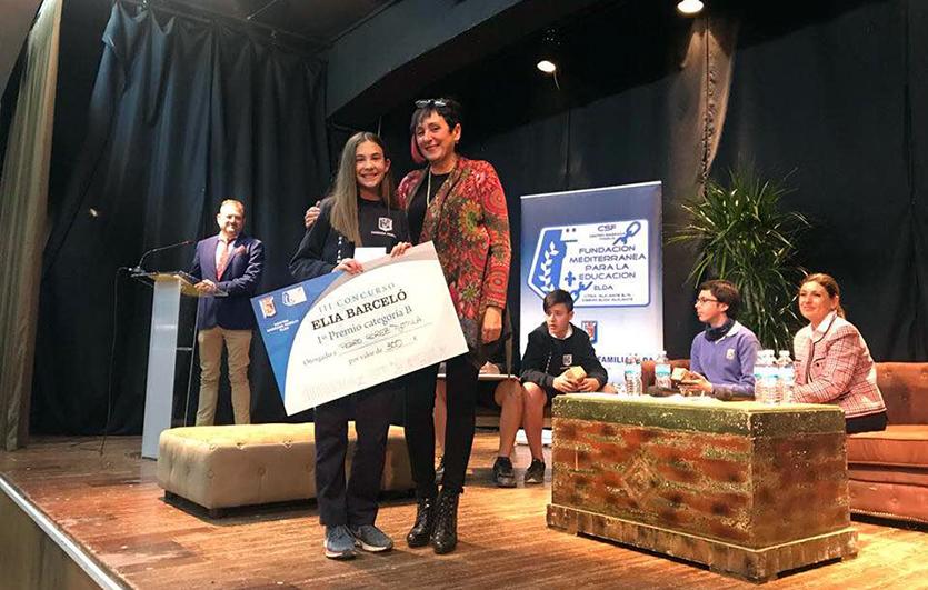 Entrega-premios-III-edición Concurso- de-Relatos-Elia-Barceló