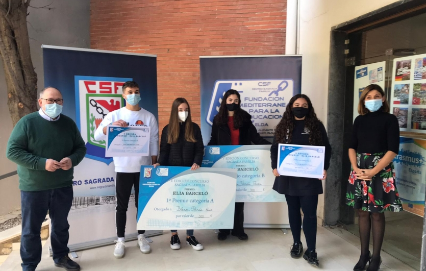 Certamen-Literario- Premio-Elia Barceló-Colegio-Sagrada-Familia-de-Elda