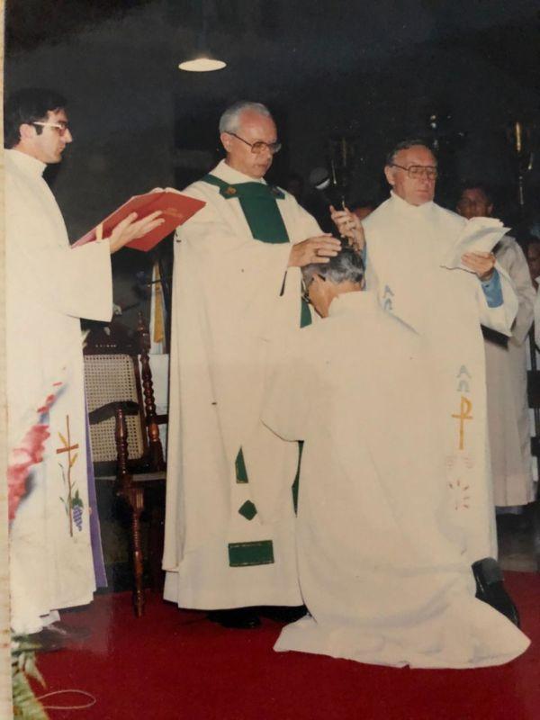 Ordenação Diaconal Benção