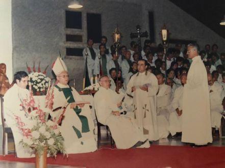 Ordenação diaconal 06 de Outubro de 1985