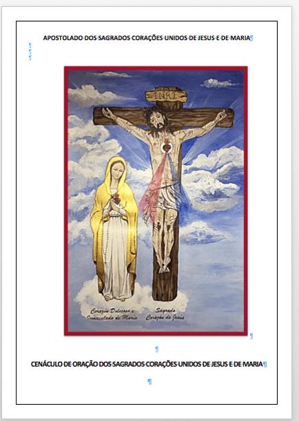Cenáculo de Oração aos Sagrados Corações Unidos de Jesus e de Maria