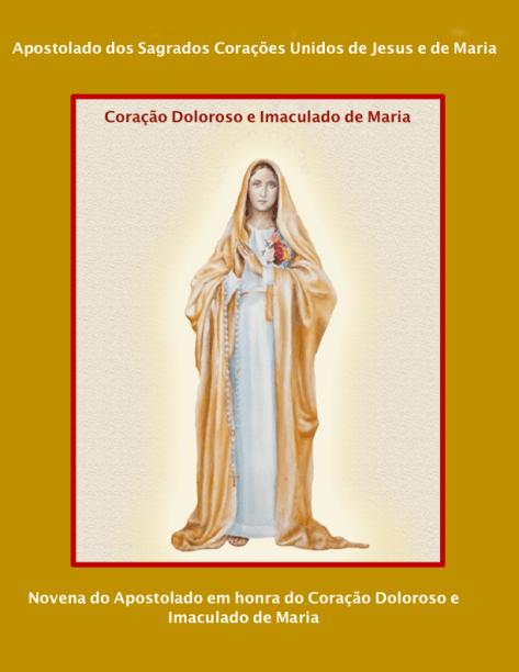 Novena do Apostolado ao Coração Doloroso e Imaculado de Maria - Revisão - 12.07.2021 - Papel A4