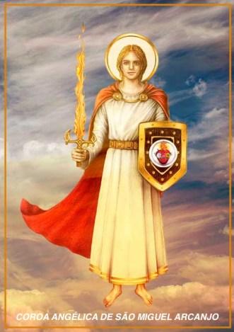 Coroa Angélica a São Miguel Arcanjo - Patrono deste Apostolado - A5 - Revisão-08.09.2021
