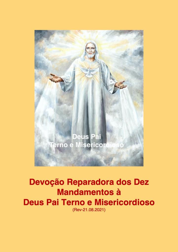 Devoção Reparadora dos Dez Mandamentos a Deus Pai Terno e Misericordioso - 26.08.2021 - A5