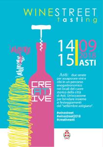 Asti wine street tasting 2018 locandina