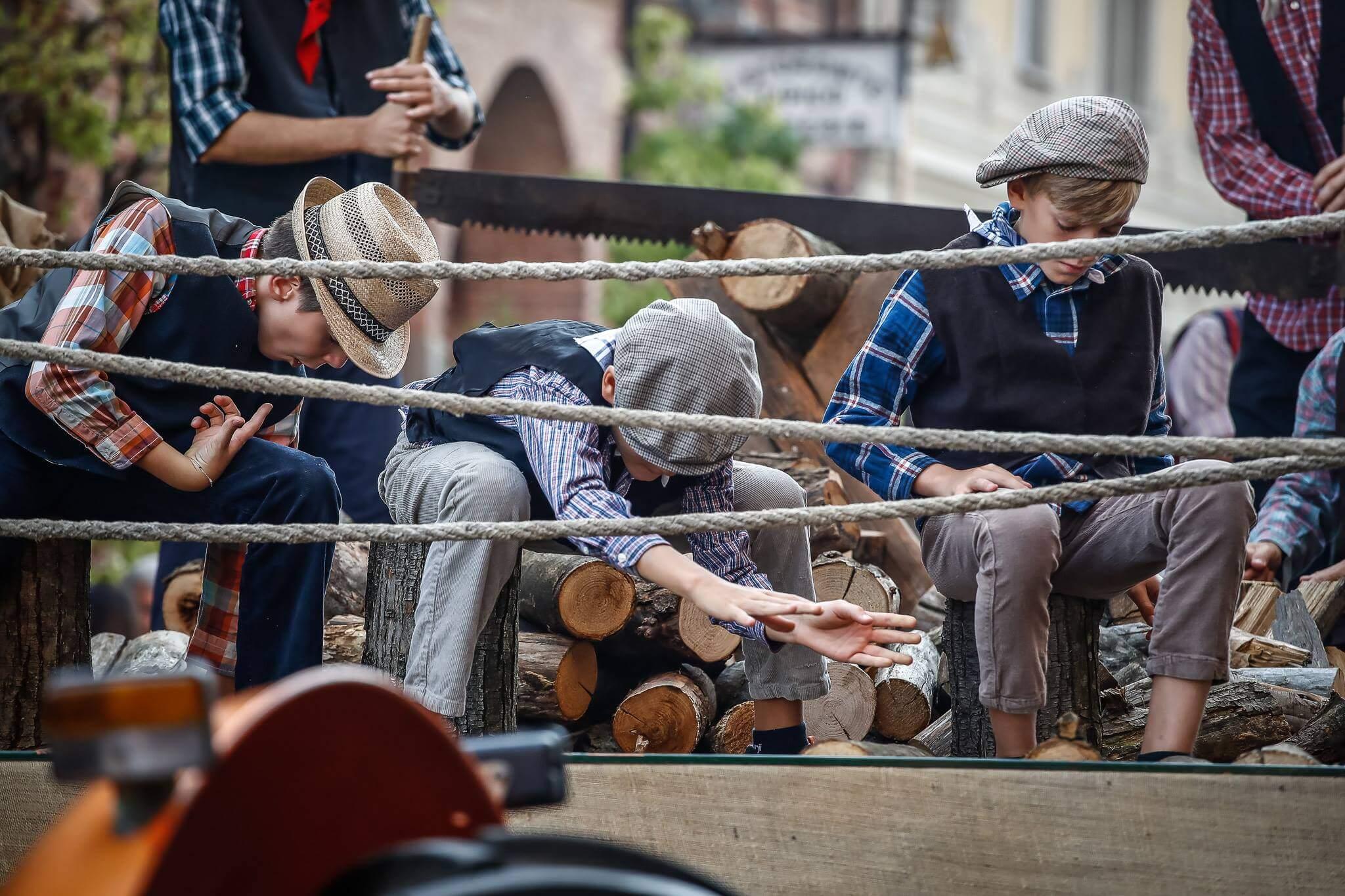 Carro sfilata festival delle sagre sfilata storica