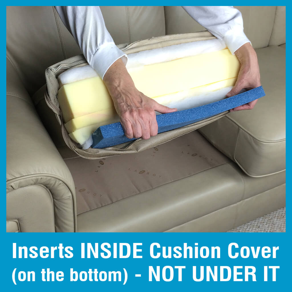 diy sagging couch cushion support
