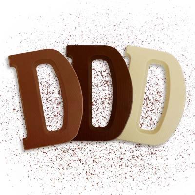 Schoko-Großbuchstabe D