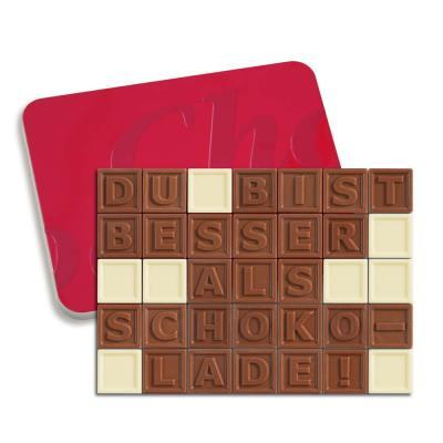 35er-Schoko-SMS - Du bist besser als Schokolade!