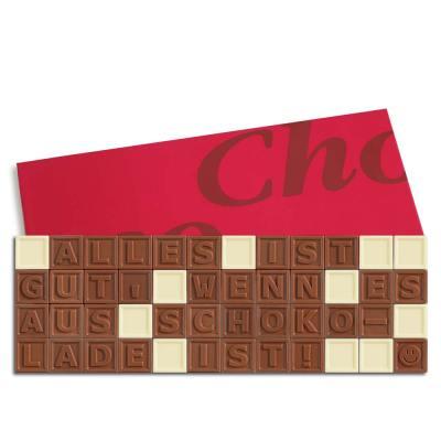48er-Schoko-SMS - Alles ist gut wenn es aus Schokolade ist!