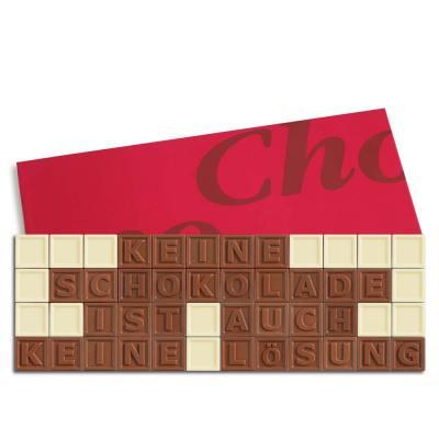 48er-Schoko-SMS - Keine Schokolade ist auch keine Lösung