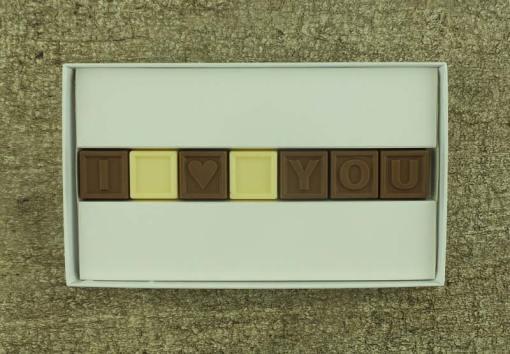 7er-Schoko-SMS - I love you