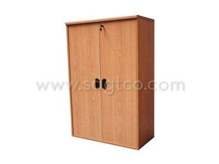 ofd_nova_sf--147--office_furniture_office_system_furniture--be_916_wooden_door_bookshelf_cabinet_beige