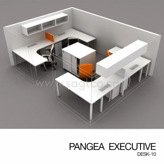 PANGEA EXECUTIVE DESK-10--OFD-EX-086