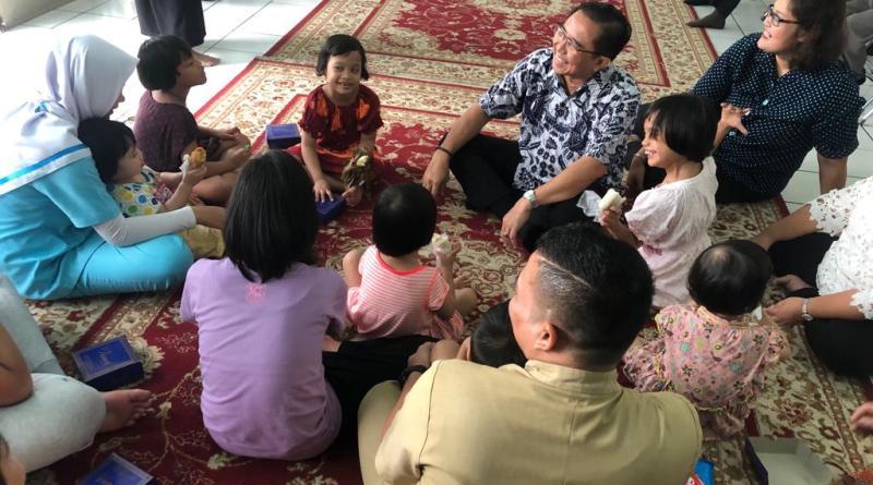 Bersukacita Bersama di Yayasan Sayap Ibu