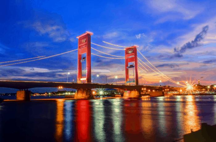 Kota Termaju, Terbaik, Terbersih, Terindah Palembang