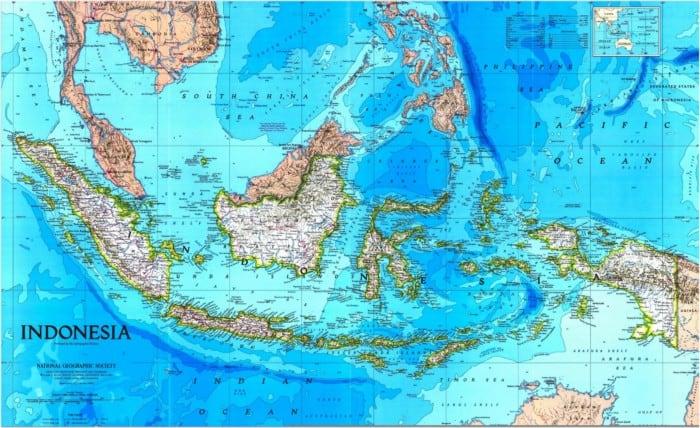 Wilayah Indonesia Secara Astronomis