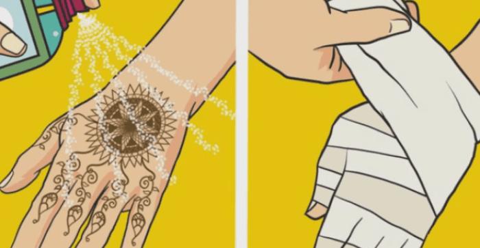 Cara Menggunakan Henna Praktis