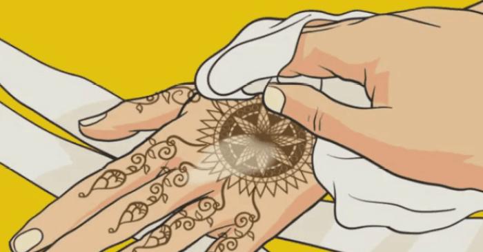 Cara Memakai Henna