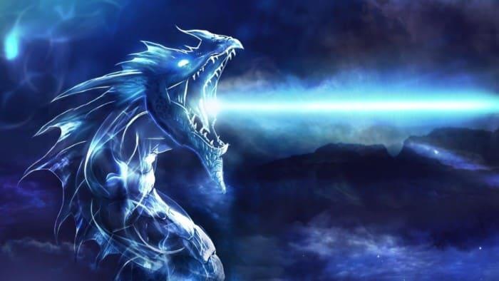 Gambar Naga Nyata