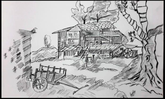 Sketsa Desa