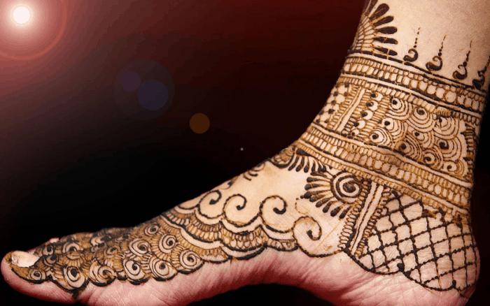 Henna Kaki Sederhana