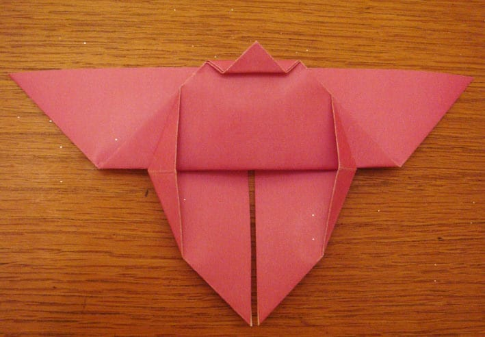 Cara Buat Origami