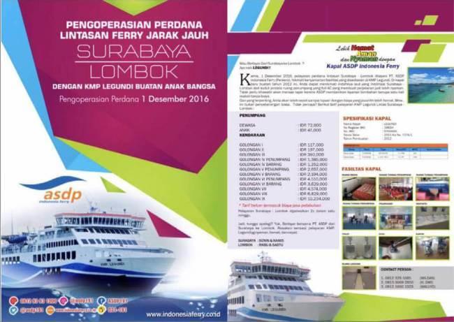 Pergi ke lombok cuma 72000