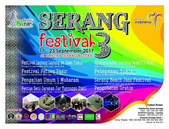 Serang Festival Ke-3 2017