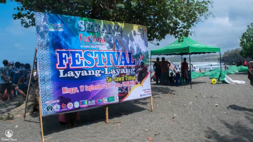 Festifal Layang Layang Ke-3, Pantai Serang, Kab Blitar