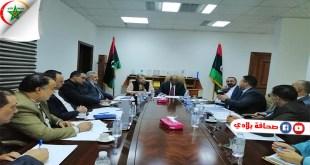 وال : إجتماع بين المهدي الأمين ووزير الدولة لشؤون هيكلة المؤسسات لدراسة المشروع الوطني للإصلاح الإداري