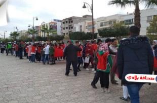 بدعم من شركة النقل الحضري..كرنفال فلكوري بمدينة فاس بمناسبة العيد الوطني