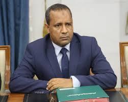 وزير التجهيز والنقل الموريتاني يعقد اجتماعا مع المدير العام للأكاديمية العربية للعلوم والتكنولوجيا والنقل البحري