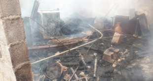 اندلاع حريق بسدح منزل يخلق الرعب في صفوف الساكنة + صور