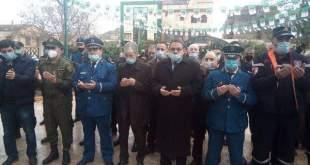 """بالصور... مصالح أمن المقاطعة الإدارية """"درارية"""" تشارك في أحياء الذكرى 60 لمظاهرات 11 ديسمبر"""