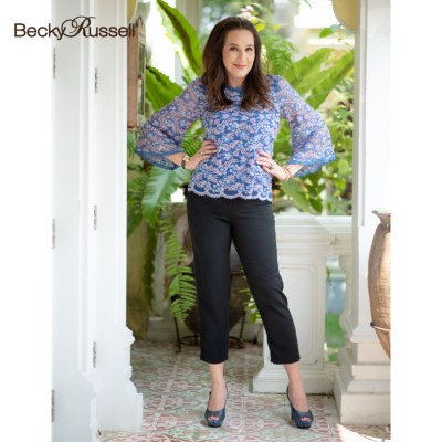 Becky Russell Becky Russell กางเกง SLIMMING PLANTS PRL350