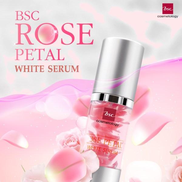 Bsc Cosmetology BSC COSMETOLOGY Rose Petal White Serum