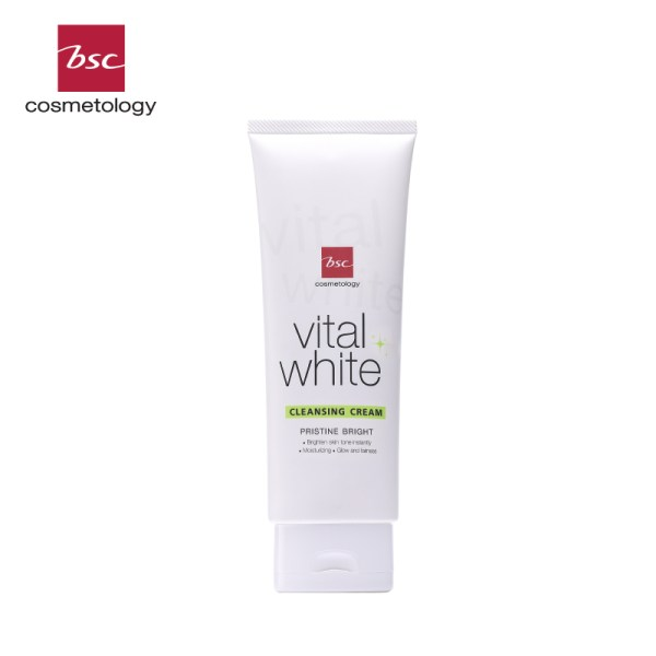 Bsc Cosmetology BSC COSMETOLOGY VITAL WHITE FACIAL CLEANSING CREAM