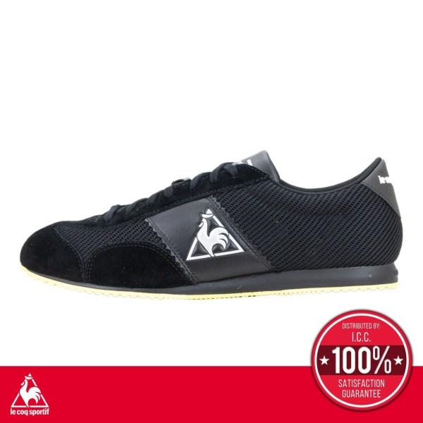 le coq sportif le coq sportif รองเท้าจักรยาน รุ่น ARLES CYCLING (รุ่นอะเลซ ไซคลิน) รองเท้าผู้ชาย รองเท้าผ้าใบสีดำ