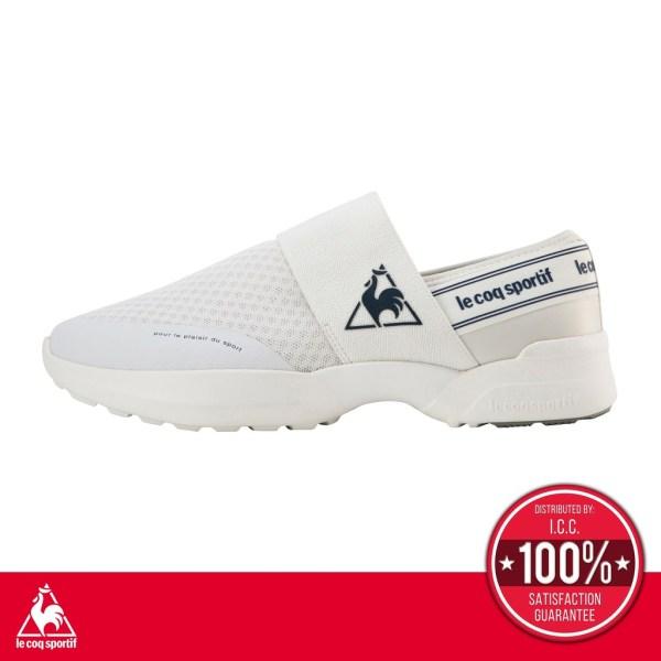 le coq sportif le coq sportif รองเท้าผู้หญิง รุ่น LA SEINE PF DRSP รองเท้าผ้าใบ, รองเท้าแฟชั่น, รองเท้าลำลอง, รองเท้าสีขาว